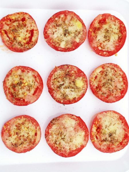 Parmesan Roasted Campari Tomatoes