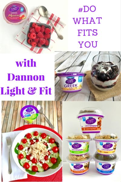 Dannon Light & Fit #DOWHATFITSYOU