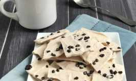 Mocha Frozen Yogurt Bark