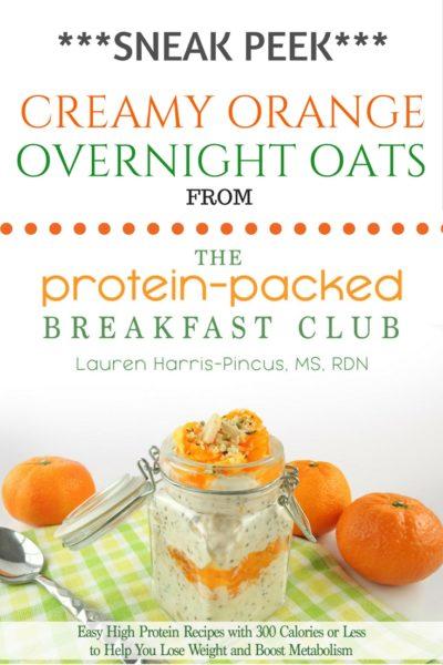 Creamy Orange Overnight Oats