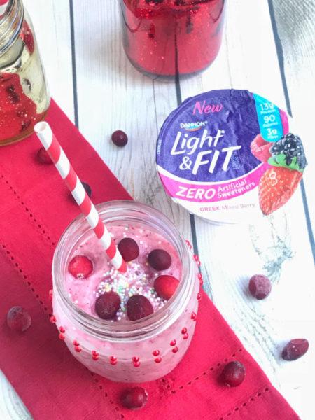 Frozen Cranberry Spice Cocktail