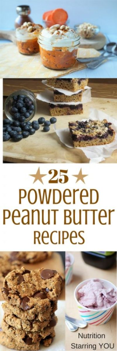 25 Powdered Peanut Butter Recipes