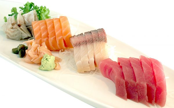how to order sushi when trying to lose weight, sashimi platter