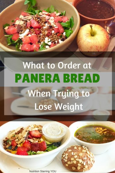 What to Order at Panera When Trying to Lose Weight