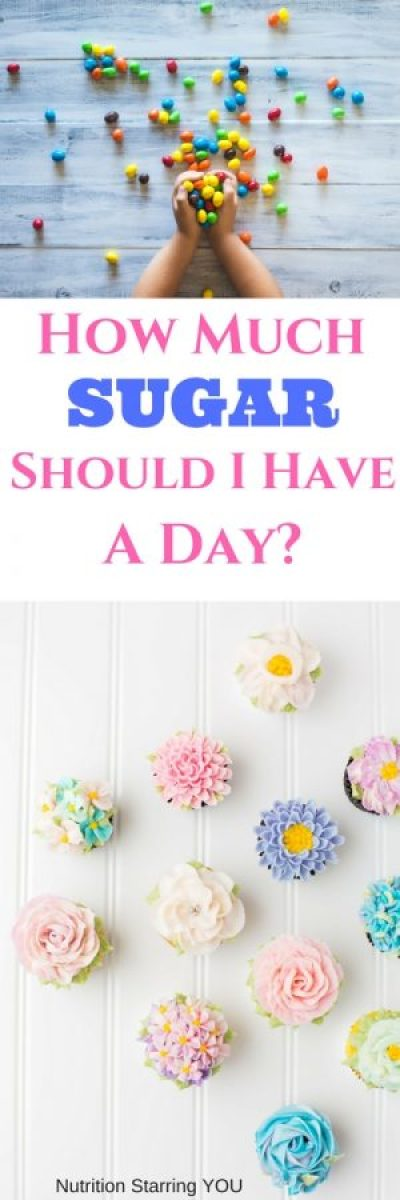 How much sugar should I have a day?