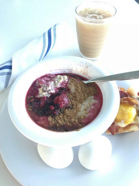 Garden Cafe breakfast on the Norwegian Escape