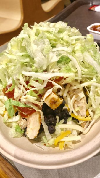Chicken Burrito Bowl at Hershey Park