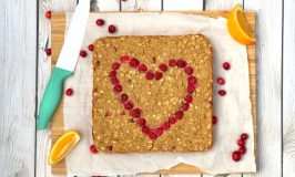 Cranberry Orange Protein Baked Oatmeal