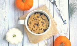 Pumpkin Chip Protein Mug Cake