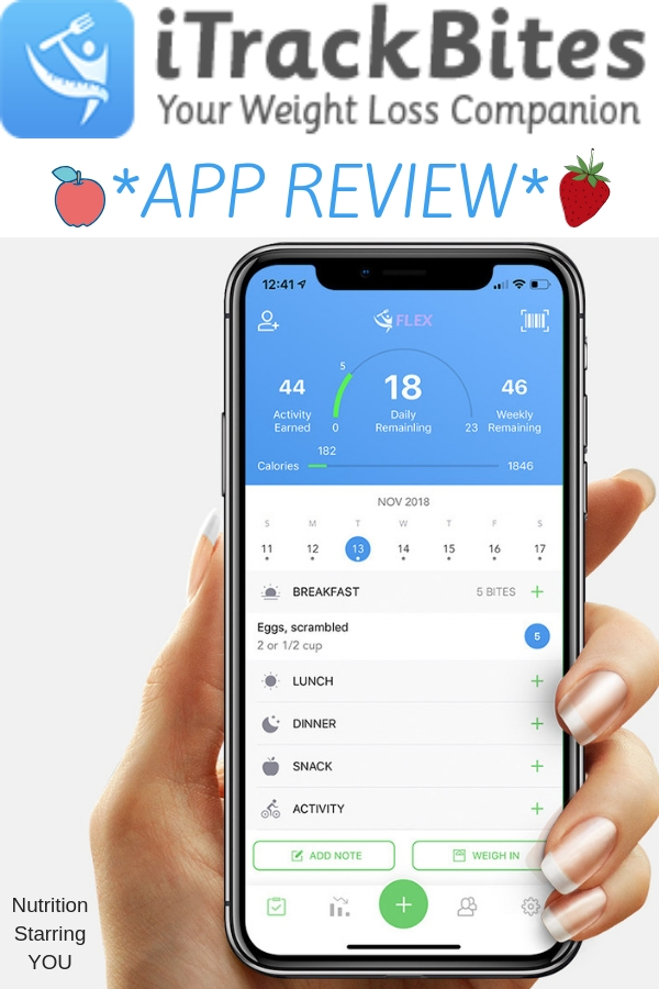 I Track Bites >> Itrackbites Health And Fitness Tracking App Review Nutrition