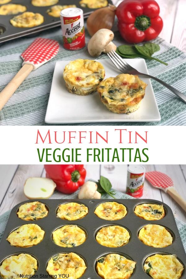 Muffin Tin Veggie Frittatas