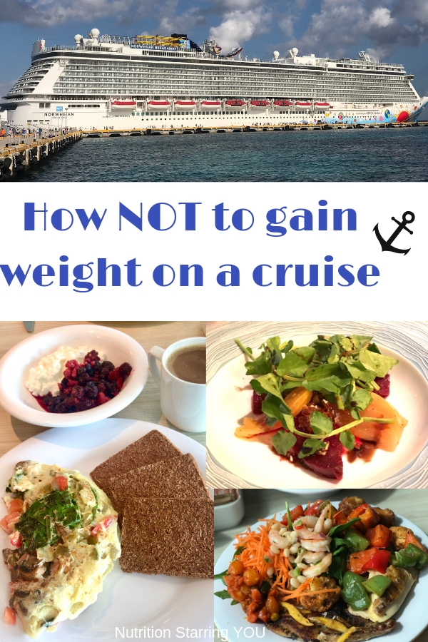 How NOT to gain weight on a cruise