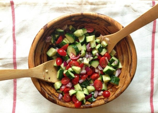 Cucumber Salad with Citrus Dill Dressing   nutritionstripped.com