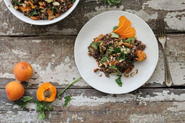 Apricot Quinoa Summer Salad main