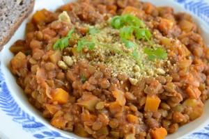 Lentil and Tomato Stew Recipe