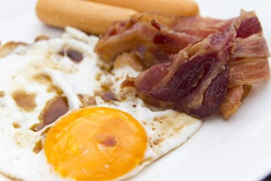 Bacon, Eggs and Sausages