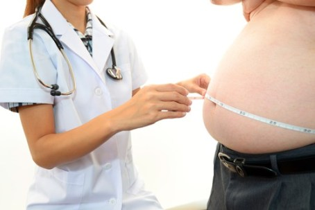 Obesity and weight loss concept