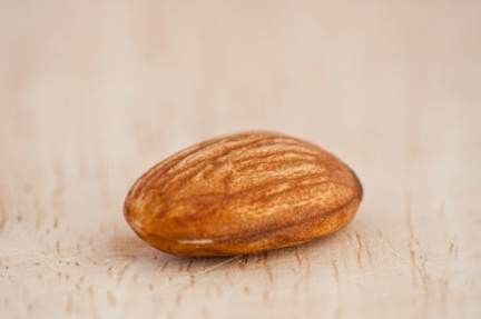 Single Almond on a Board