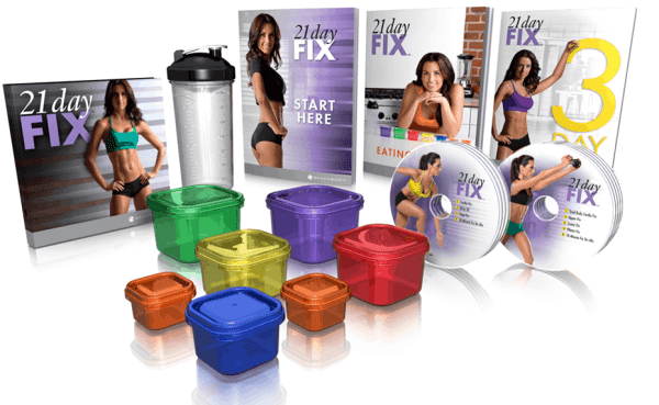 21 Day Fix contents