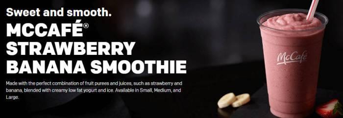McDonalds Smoothie