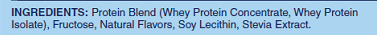 Whey ingredients
