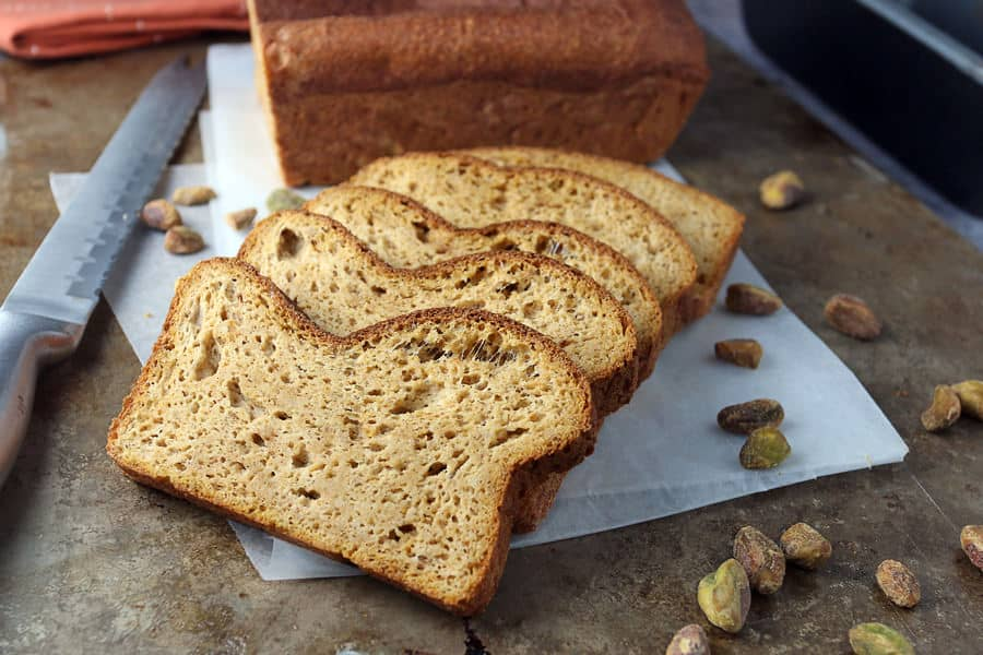 Keto Pumpkin Bread Loaf