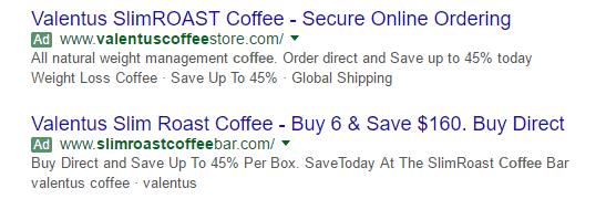 Buying Valentus coffee