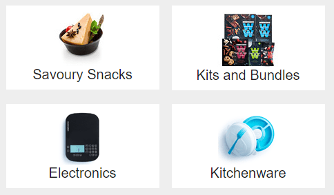Weight Watchers Product Choices