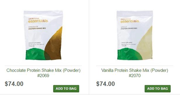 Protein Shake Prices