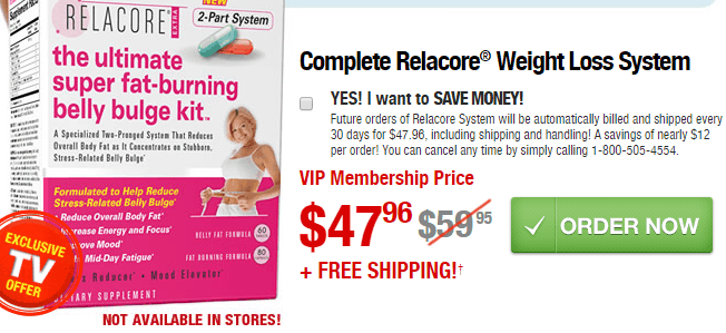 Complete Relacore Weight Loss System