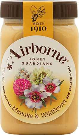 Airborne (New Zealand) Manuka with Wildflower Blend Honey