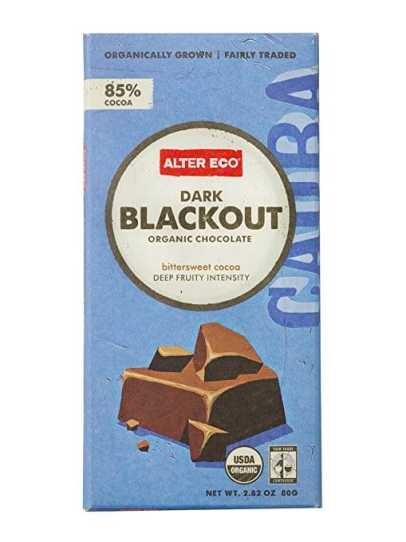Alter Eco - Dark Blackout Organic Chocolate