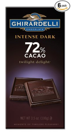 Ghirardelli Chocolate Intense Dark Bar, Twilight Delight
