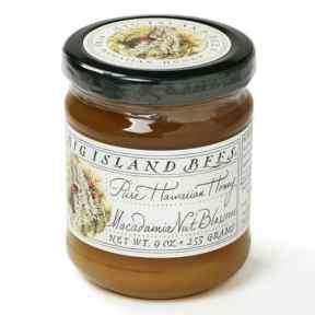 Hawaiian Macadamia Nut Blossom Raw Honey