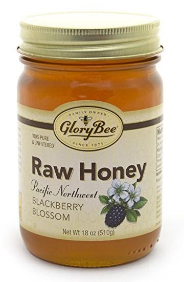 Raw Pacific Northwest Blackberry Blossom Honey
