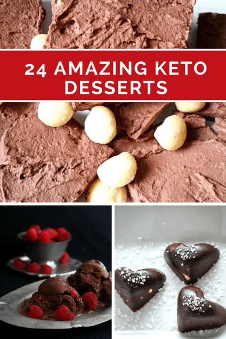 24 Amazing Keto Desserts