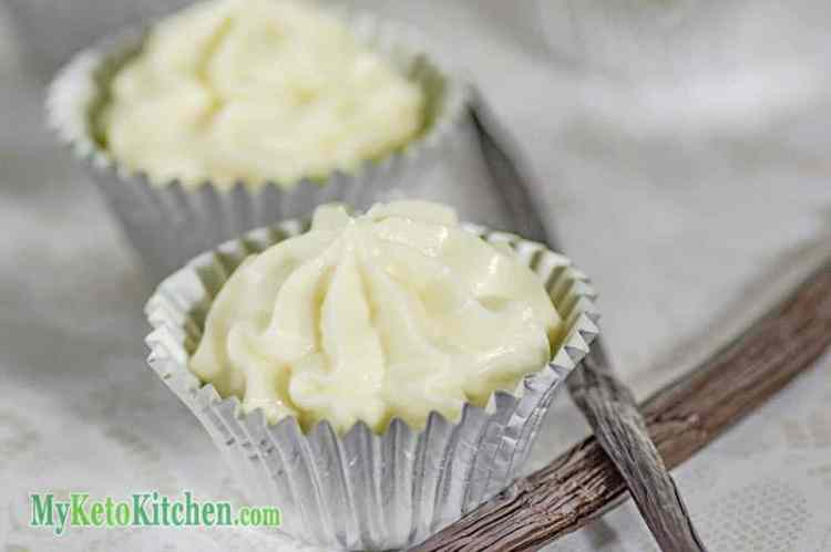 Vanilla Cheesecake Fat Bombs