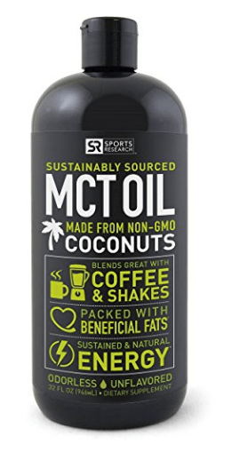 Sports Research MCT Oil