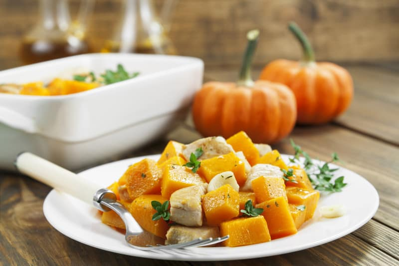 Pumpkin for dinner