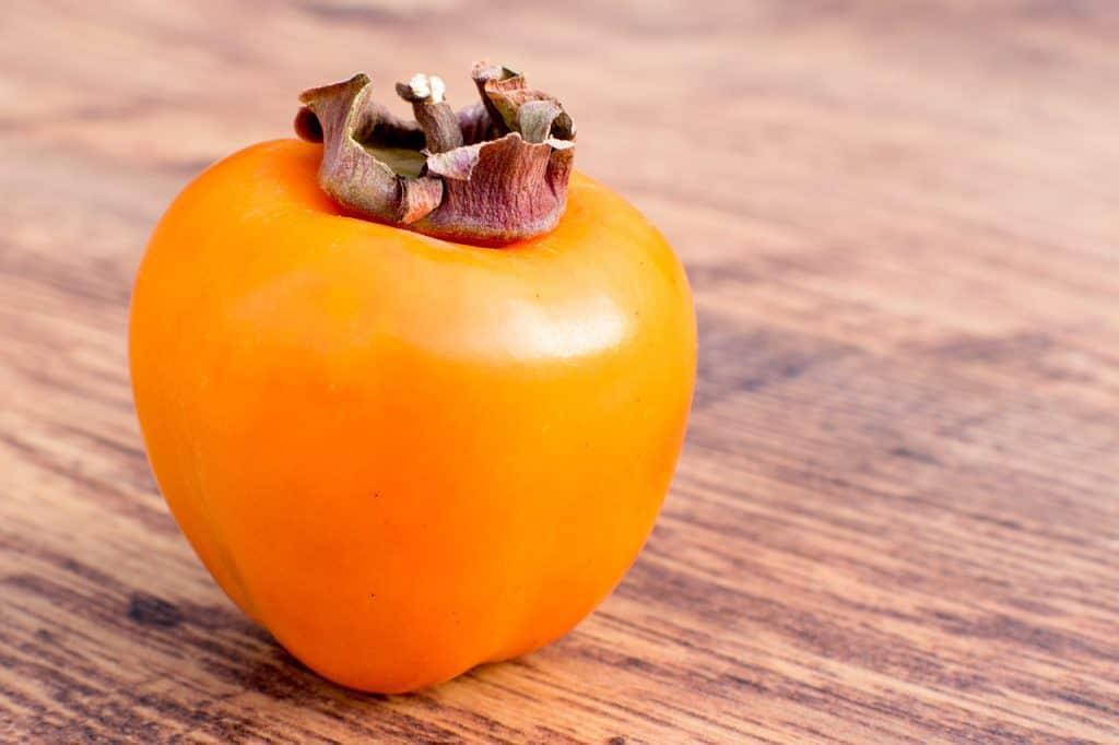 Single persimmon