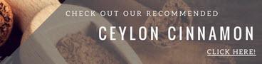 Recommended Ceylon Cinnamon