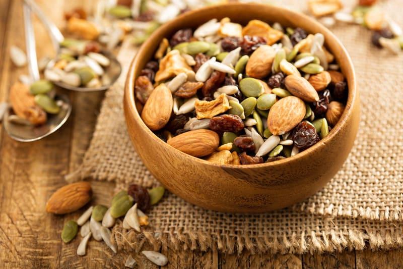 Almond trail mix