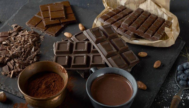 Dark chocolate options