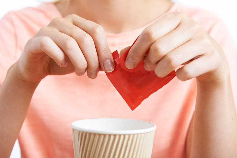 Sugar alcohol sweetener