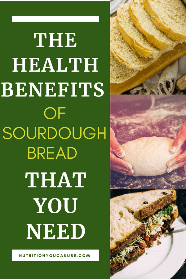 Didn't think bread was good for you? Think again! Check out these great health benefits of sourdough bread!