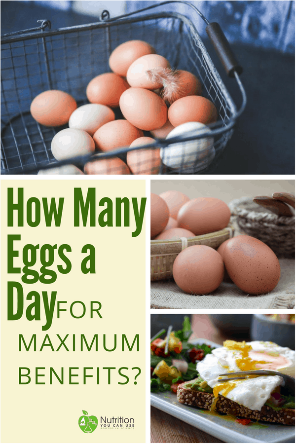 Wondering how many eggs per day you should eat for maximum benefit? Click through to find out!
