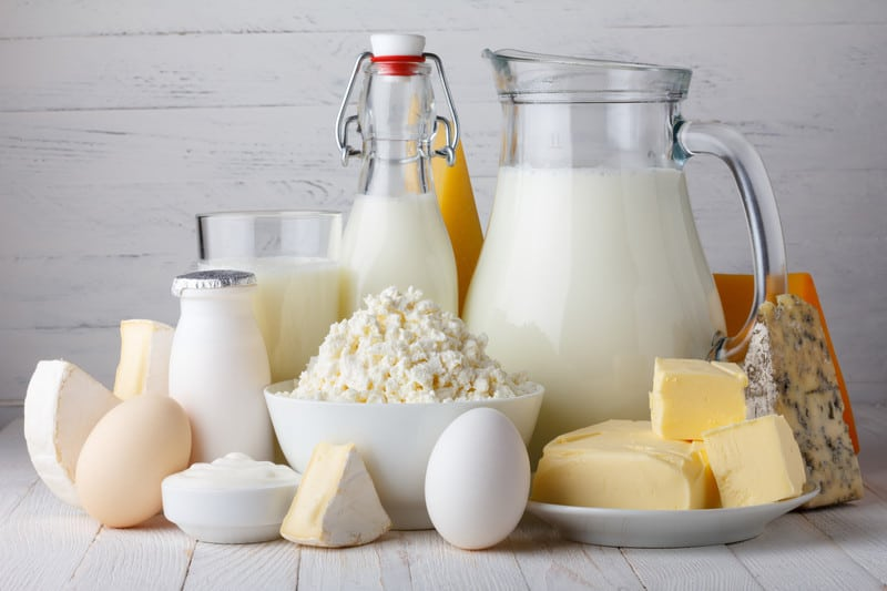 Selection of dairy