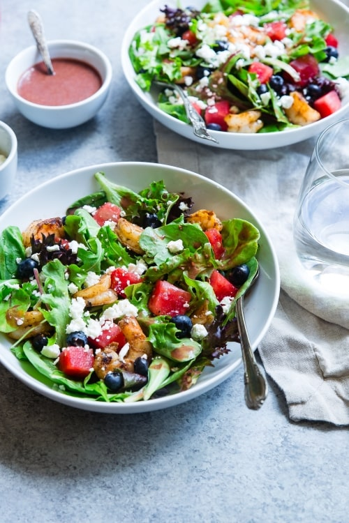 salad with fruit