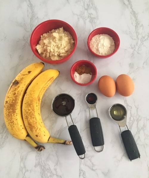 paleo banana bread ingredients