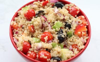 Meal Prep Greek Quinoa Salad